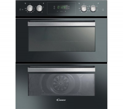 Save £70 at Currys on CANDY FC7D415NX Electric Double Oven - Black, Black
