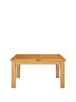 Save £150 at Very on Oakland 140 - 180 Cm Solid Wood Extending Dining Table