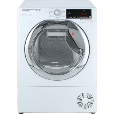 Save £50 at AO on Hoover Dynamic Next Advance DXH9A2TCE 9Kg Heat Pump Tumble Dryer - White / Chrome - A++ Rated