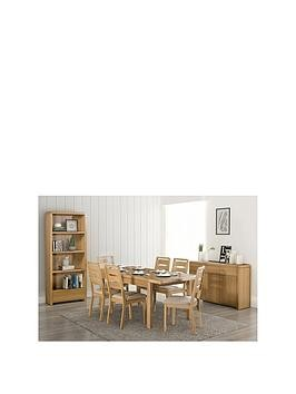 Save £200 at Very on Julian Bowen Newman 150-180 Cm Extending Dining Table + 6 Chairs