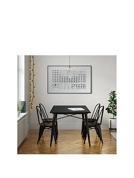 Save £100 at Very on Fusion 150 Cm Dining Table + 4 Chairs