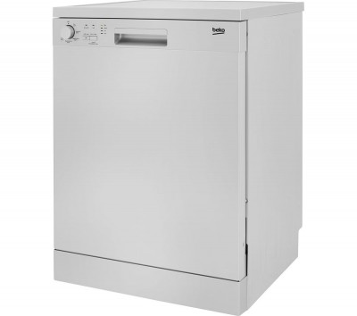 Save £30 at Currys on BEKO DFN05310S Full-size Dishwasher - Silver, Silver