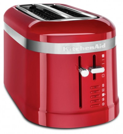 Save £28 at Argos on KitchenAid Design Collection 4 Slice Toaster - Empire Red