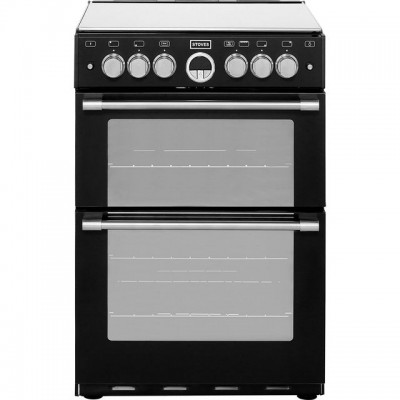 Save £140 at AO on Stoves Sterling STERLING600G 60cm Gas Cooker with Full Width Electric Grill - Black - A/A Rated