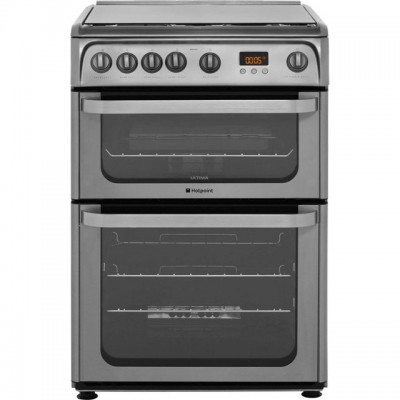 Save £50 at AO on Hotpoint Ultima HUG61X 60cm Gas Cooker with Variable Gas Grill - Stainless Steel - A+/A Rated