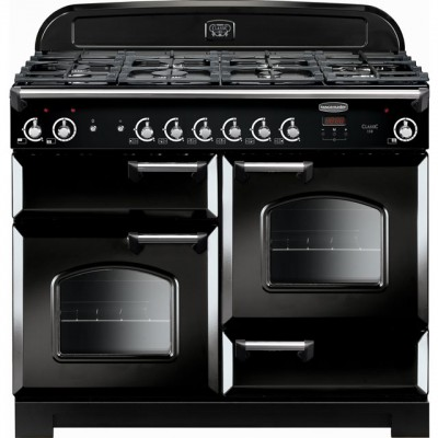 Save £270 at AO on Rangemaster Classic CLA110NGFBL/C 110cm Gas Range Cooker - Black / Chrome - A+/A+ Rated
