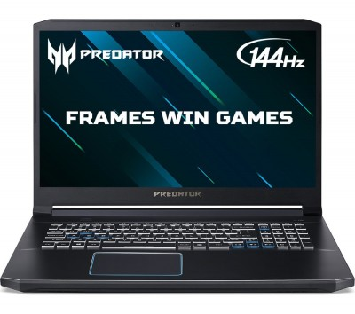 "Save £250 at Currys on ACER Predator Helios 300 17.3"" Intelu0026regCore™ i5 RTX 2060 Gaming Laptop - 512 GB SSD"