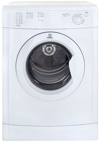 Save £20 at Argos on Indesit Eco-Time IDV75W 7KG Vented Tumble Dryer - White