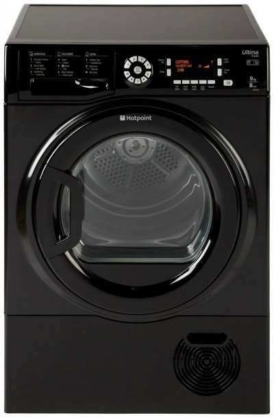 Save £90 at Argos on Hotpoint SUTCD97B6KM 9KG Condenser Tumble Dryer - Black