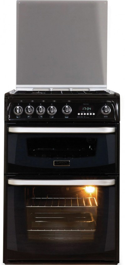 Save £70 at Argos on Hotpoint Cannon CH60GCIK 60cm Double Oven Gas Cooker - Black