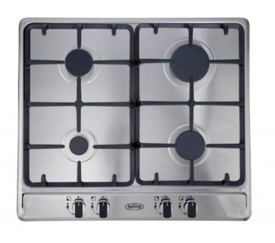 Save £60 at Currys on BELLING GHU60GC Gas Hob - Stainless Steel, Stainless Steel