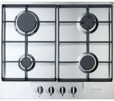 Save £46 at Currys on BAUMATIC BHG620SS Gas Hob - Stainless Steel, Stainless Steel