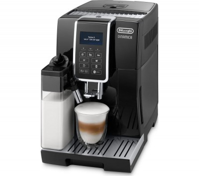 Save £601 at Currys on DELONGHI Dinamica ECAM 350.55.B Bean to Cup Coffee Machine - Black, Black