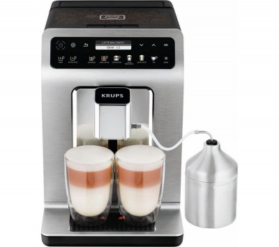 Save £270 at Currys on Evidence Plus EA894T40 Bean to Cup Coffee Machine - Titanium, Titanium