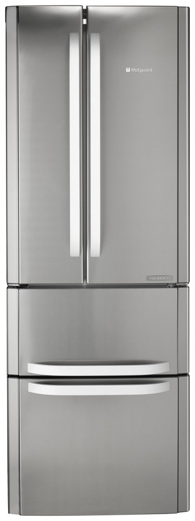 Save £110 at Argos on Hotpoint FFU4DX American Fridge Freezer - Stainless Steel