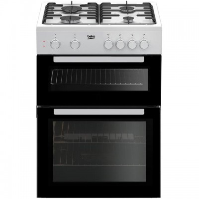 Save £60 at AO on Beko KTG611W 60cm Gas Cooker with Full Width Gas Grill - White - A+ Rated