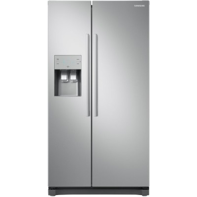 Save £130 at Appliance City on Samsung RS50N3513SA - EX DISPLAY Ex Display American Fridge Freezer With Ice & Water - SILVER