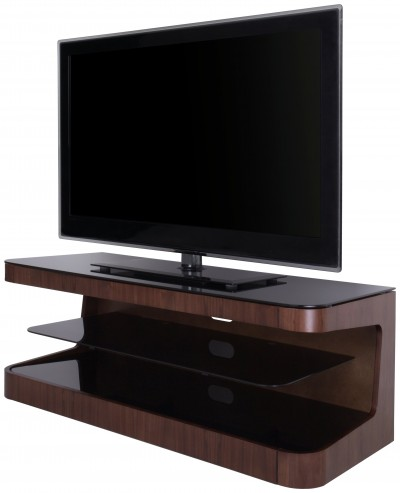 Save £54 at Argos on AVF Up to 55 Inch Wood TV Stand - Walnut