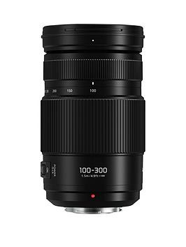 Save £71 at Very on Panasonic H-Fsa100300E Lumix G Vario 100-300Mm Super Telephoto Lens - Black