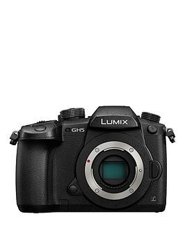 Save £400 at Very on Panasonic Lumix Dc-Gh5Eb-K Mirrorless Camera Body Only - Black