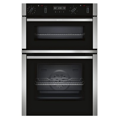 Save £150 at Appliance City on Neff U2ACM7HN0B N50 Pyrolytic CircoTherm Built In Double Oven - STAINLESS STEEL