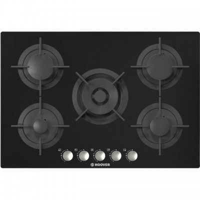 Save £60 at AO on Hoover HGV75SMWCGB 74cm Gas Hob - Black Glass