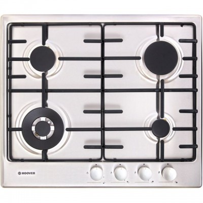 Save £50 at AO on Hoover H-HOB 300 GAS HHW6BF4MX 60cm Gas Hob - Stainless Steel