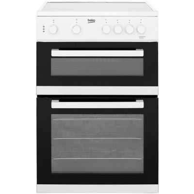 Save £80 at AO on Beko KDC611W 60cm Electric Cooker with Ceramic Hob - White - A/A Rated