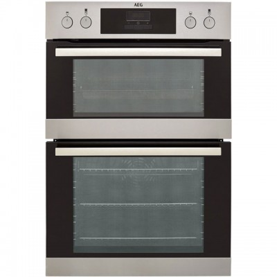 Save £80 at AO on AEG DEB331010M Built In Double Oven - Stainless Steel - A/A Rated