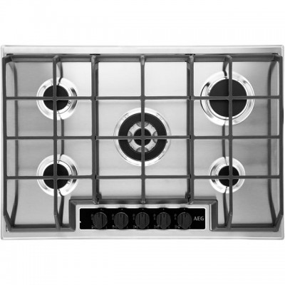 Save £83 at AO on AEG HG75SY5451 74cm Gas Hob - Stainless Steel