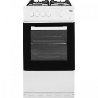 Save £36 at AO on Beko KSG580W 50cm Gas Cooker - White - A Rated