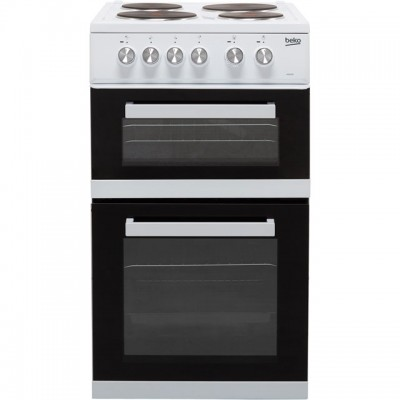 Save £60 at AO on Beko KD532AW 50cm Electric Cooker with Solid Plate Hob - White - A Rated