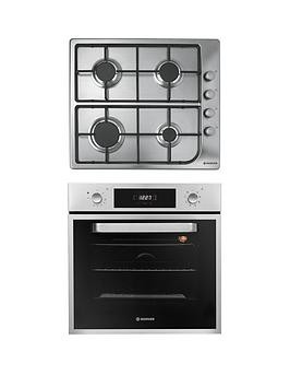 Save £50 at Very on Hoover Hprgm60Ss 60Cm Built-In Electric Single Oven  Gas Hob Pack - Oven And Hob Pack With Installation