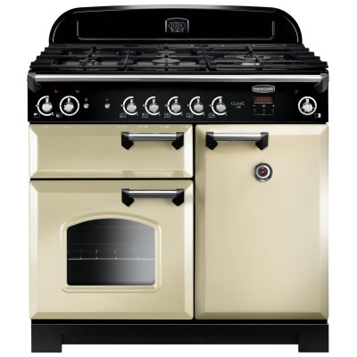 Save £208 at Appliance City on Rangemaster CLA100NGFCR/C Classic 100cm Gas Range Cooker 117640 - CREAM