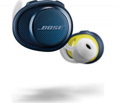 Save £15 at Currys on BOSE SoundSport Free Wireless Bluetooth Headphones - Midnight Blue, Blue