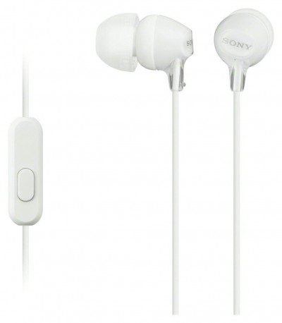 Save £2 at Argos on Sony MDR-EX15AP In-Ear Wired Headphones - White