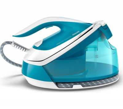 Save £25 at Currys on PerfectCare Compact Plus GC7920/26 Steam Generator Iron - Blue, Blue