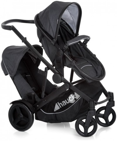 Save £50 at Argos on Hauck Duett II Tandem Stroller - Black