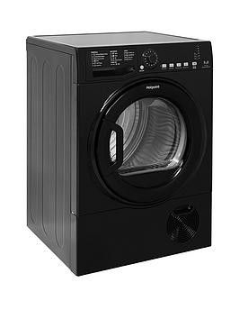 Save £40 at Very on Hotpoint Aquarius Tcfs835Bgk 8Kg Load Condenser Sensor Tumble Dryer - Black