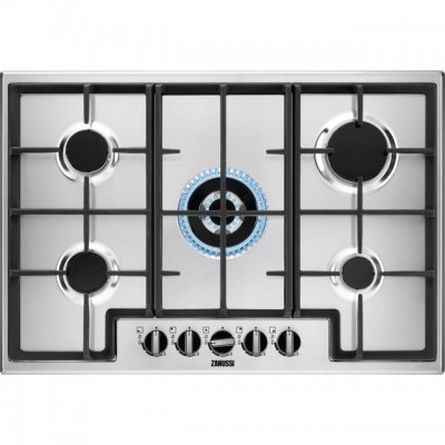 Save £30 at AO on Zanussi ZGNN755X 74cm Gas Hob - Stainless Steel