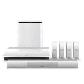 Save £500 at Sonic Direct on Bose LS 650 WHT Lifestyle 650 Home Entertainment System in White