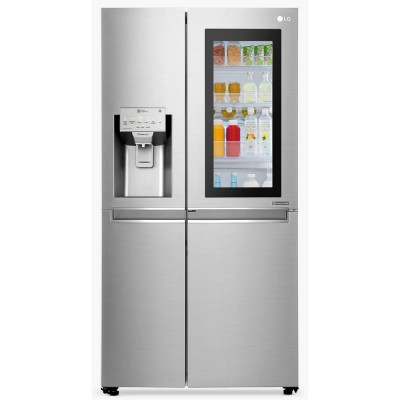 Save £200 at Appliance City on LG GSX961NSVZ Door In Door Instaview American Fridge Freezer Non Plumbed - STAINLESS STEEL