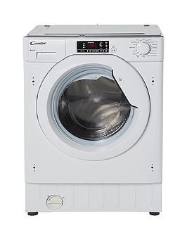 Save £110 at Very on Candy Cbwm916D 9Kg Load, 1600 Spin Integrated Washing Machine - White - Washing Machine Only