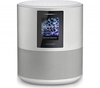 Save £80 at Currys on BOSE Home 500 Wireless Voice Controlled Speaker - Silver, Silver