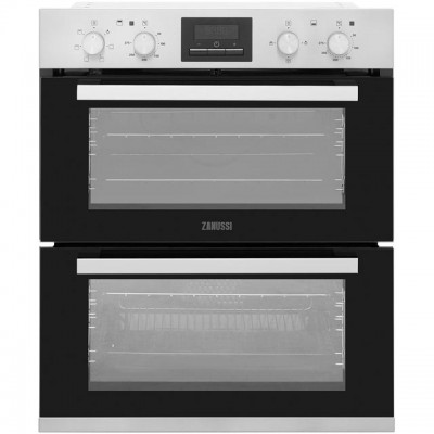 Save £80 at AO on Zanussi ZOF35661XK Built Under Double Oven - Stainless Steel - A/A Rated