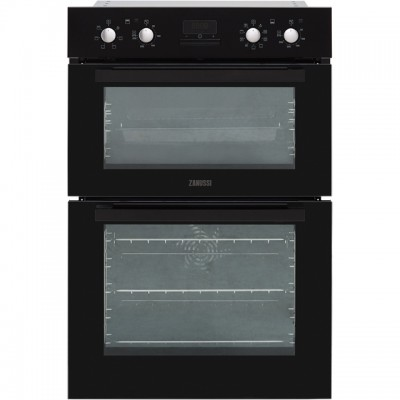 Save £50 at AO on Zanussi ZOD35802BK Built In Double Oven - Black - A/A Rated