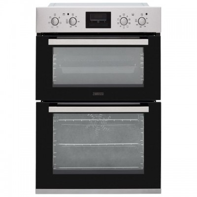 Save £50 at AO on Zanussi ZOD35802XK Built In Double Oven - Stainless Steel - A/A Rated