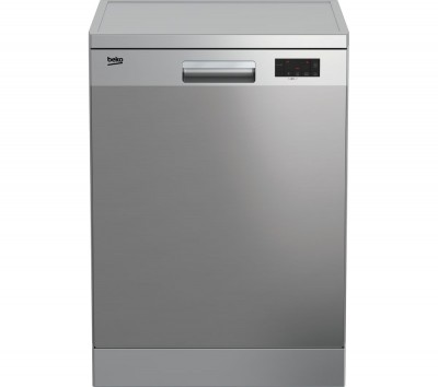 Save £50 at Currys on BEKO DFN16X10X Full-size Dishwasher - Stainless Steel, Stainless Steel