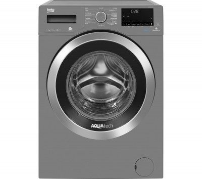 Save £51 at Currys on Beko Pro AquaTech WX94044E0G Bluetooth 9 kg 1400 Spin Washing Machine - Graphite, Graphite
