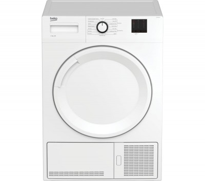 Save £40 at Currys on Beko Tumble Dryer DTBC9001W 9 kg Condenser - White, White